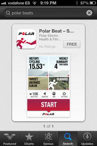 polar beat app